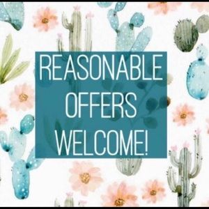 Other - I'm open to reasonable offers!! 🎉🎉💞💞💞😊😊